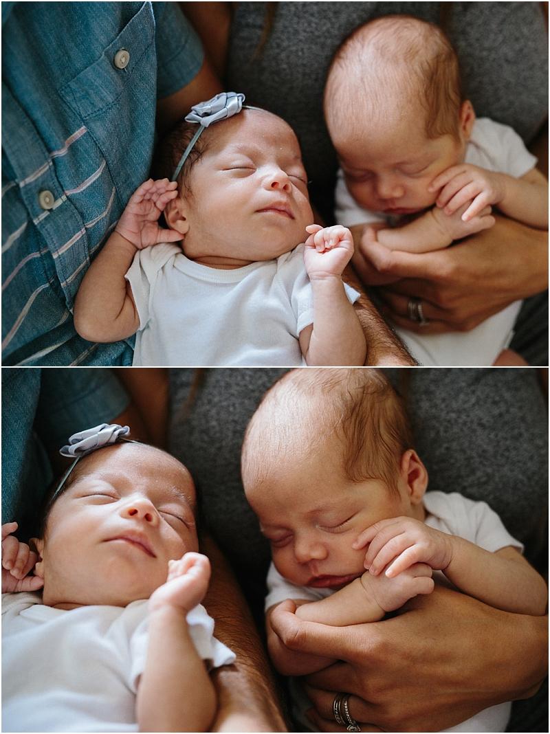 twin newborn photographer los angeles